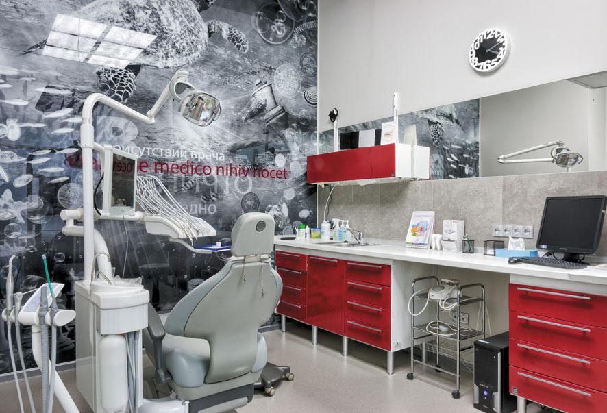 Мебель в дизайн стоматологии